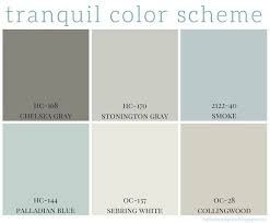 benjamin moore paint colors 2017 tranquil color scheme calming colors benjamin moore and neutral