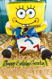 spongebob squarepants birthday cake baby k 1 yr ideas