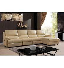 canap cuir relax canapé cuir relax cosy 36 coloris beige 4 personnes