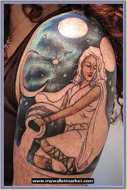 awesome tattoos designs ideas for men and women aquarius 3d