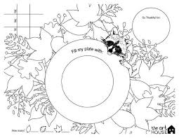 printable thanksgiving placemats for coloring happy thanksgiving