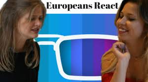 Colour Blind Glasses Uk Europeans React To Enchroma Glasses Colour Blindness Glasses