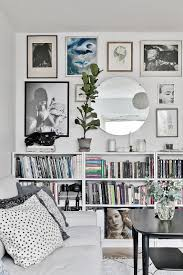 the livingroom livingroom sofa white gallery wall picture eclectic mirror