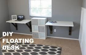 Floating Wall Desk Floating Desk Ikea Maxresdefault Diy Build Hack Youtube Small