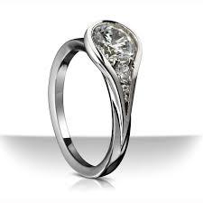 Contemporary Wedding Rings by Unique Engagement Ring Settings Engagement Ring Settings