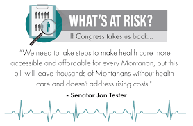 Us Senate Floor Plan Tester Strongly Opposes Senate Health Care Bill Jon Tester