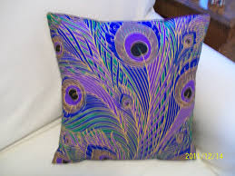 Pier One Peacock Pillow by Peacock By Hmishke On Etsy 25 00 For The Home Pinterest