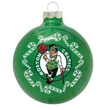 boston celtics traditional ornament