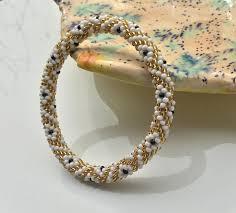 bracelet handmade images Nepal bracelets beaded bracelet handmade by ramila beads gold jpg