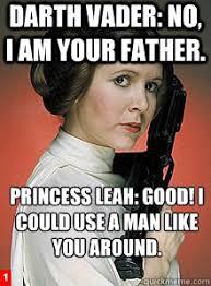 Princess Leia Meme - the plot twist that explains the biggest mysteries of the force
