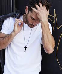 key necklace men images Matte black key necklace the giving keys jpg
