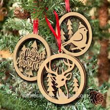 laser cut wood christmas ornament laser cut wood christmas