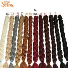 packs of kanekalon hair silky strands 82inch synthetic jumbo braids hair 165g pack kanekalon blonde crochet false braiding hair extensions jpg 640x640 jpg