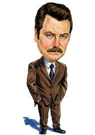 Ron Swanson Circle Desk Episode Ron Swanson Is Great Even When He U0027s Sick Funny Television