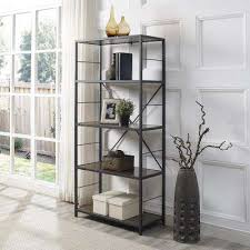 Wooden Bedside Bookcase Shelving Display Bookcases Home Office Furniture The Home Depot