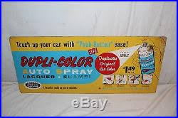 vintage 1960 u0027s dupli color car spray paint paints gas oil 2 sided