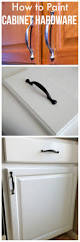 how to paint kitchen cabinet hardware