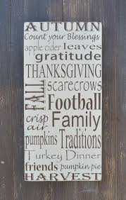 Personalized Wood Signs Home Decor Fall Decor Sign Thanksgiving Decor Custom Wood Sign Home Decor