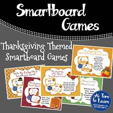 thanksgiving themed smartboard activinspire a turn to learn