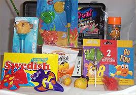 Fishing Gift Basket Tackle Box Kid Gift Basket Fish Fun Fishing Gift Basket Candy
