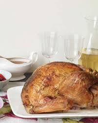 apple turkey recipes thanksgiving 38 terrific thanksgiving turkey recipes martha stewart