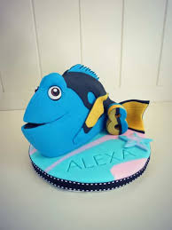 fish cake toppers how to make a finding dory cake topper cakejournal