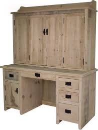desk with enclosed hutch office furniture pinterest desks