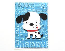 kids birthday card etsy