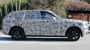 roll royce cullinan rolls royce cullinan suv caught testing for the first time