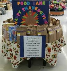 wal mart thanksgiving food drive colquitt food bank