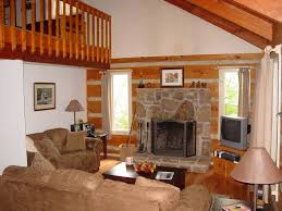 Beautiful Log Home Interiors Beautiful Secluded Mountain Log Home Homeaway Sevierville