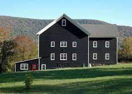 derek sanders black barn exterior paint colors pinterest