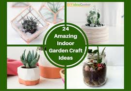 24 amazing indoor garden craft ideas craft paper scissors