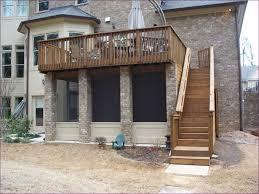 outdoor wonderful basic deck railing vinyl deck railing deck