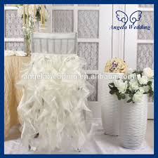 Cheap Chair Covers For Weddings Ch007n Cheap 2017 Wholesale Fancy Popular Frilly Curly Willow