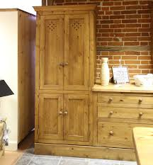 Solid Pine Wardrobes Solid Pine Larder Cupboards In All Sizes Furniture4yourhome