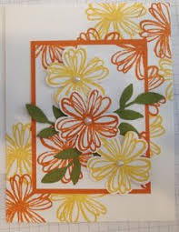 for you card using stampin up falling flowers may flowers bundle