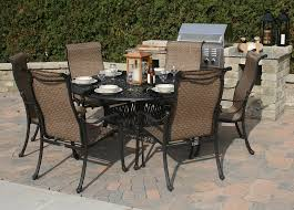 patio table and chairs clearance 6 person patio set patio outstanding 6 chair patio set patio