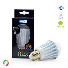 alexa controlled light bulbs flux wifi smart led light bulb compatible with alexa google home