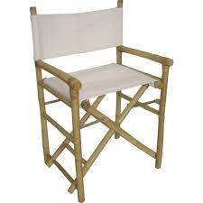 chaise metteur en fauteuil metteur en scène pliant en bambou et c achat vente