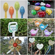 Garden Crafts Ideas Garden Crafts 26 Garden Craft Ideas You Can Make
