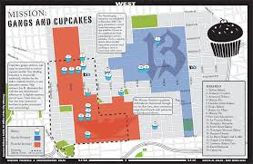 Gangs Chicago Map by Mission Gangs And Cupcakes Guerrilla Cartography Maps Hidden