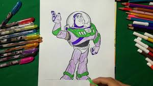 buzz lightyear coloring book toy story sailany coloring kids