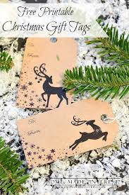 free printable christmas gift tags home made interest