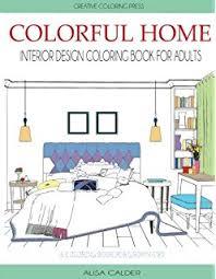 home interior design books amazon com interior design coloring book a stress management