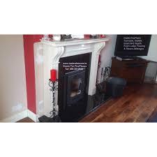 standard door for fire places