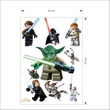 lego yoda star war characters decal removable wall sticker kids lego yoda star war characters decal removable wall sticker kids room decor art