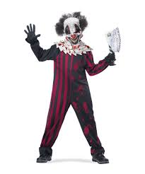 clown costumes clown killer kids costume boy clown costumes