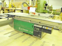 altendorf sliding table saw used altendorf f45 2800 series sliding table saw pre owned picture