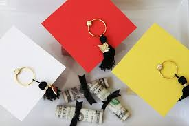 graduation boxes diy graduation cap favor box party ideas activities by